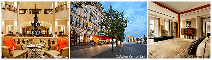 Hoteles en Berlín: Hotel Adlon Kempinski