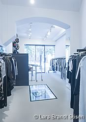 Fashion in Berlim: Temporary Showroom