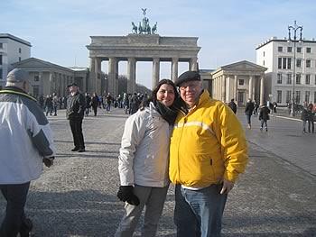 Antonio Jordão und Martha Pougy, Brasilien, in Berlin,  01/02/2014