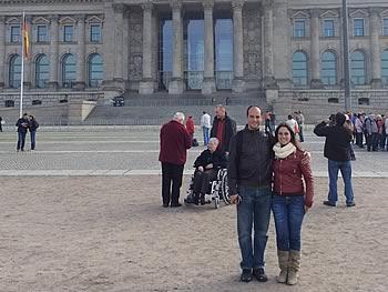 Gruppe Eduardo Teixeira Barreto und Priscila de Almeida Chuffa, Brasilien, in Berlin,  12/04/2014