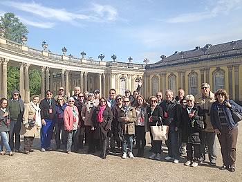 Gruppe Abreu, Brasilien, in Potsdam,  12/05/2014