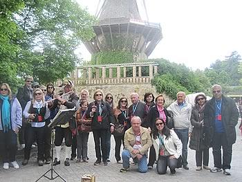 Gruppe Queensberry, Brasilien, in Potsdam,  16/05/2014