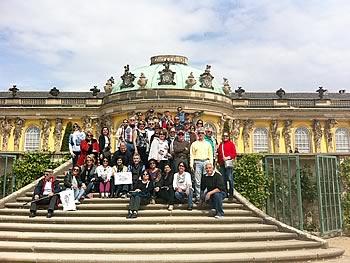 Gruppe Transeuropa, Brasilien, in Potsdam  17/05/2014
