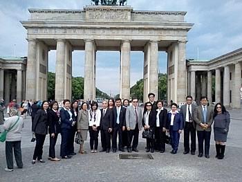 Delegation Thailand,  in Berlin,  27/05/2014