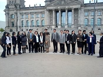 Delegation Thailand,  in Berlin,  27/05/2014