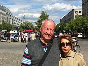 Lucia und Marco Bittar, Brasilien,  in Berlin,  04/06/2014