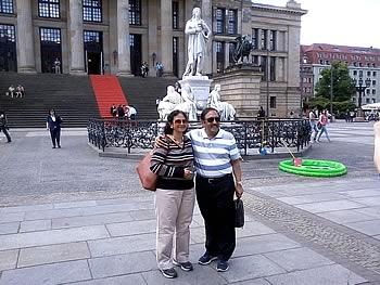 Ehepaar Benazir, Indien,  in Berlin, 06/06/2014