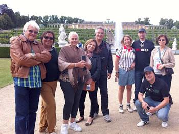 Gruppe Abreu, Brasilien, in Potsdam 13/06/2014