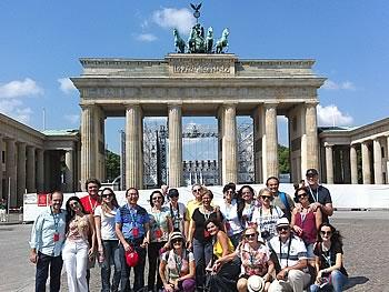 Gruppe Abreu, Brasilien,  in Berlin, 11/07/2014