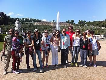 Gruppe Abreu, Brasilien, in Potsdam 11/07/2014