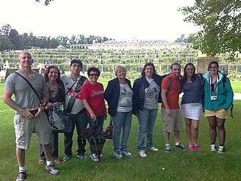 Gruppe Abreu, Brasilien, in Potsdam 13/07/2014
