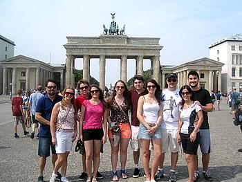 Familie Drebes, Brasilien,  in Berlin, 21/07/2014