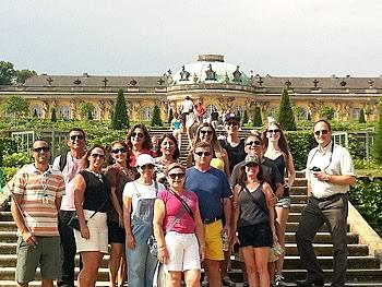 Gruppe Tumlare, Brasilien, in Potsdam 27/07/2014
