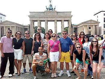 Gruppe Tumlare, Brasilien,  in Berlin, 27/07/2014