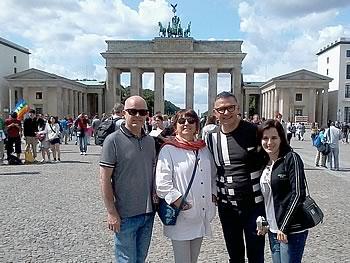 Gruppe Carvalho, Brasilien, in Berlin, 16/08/2014