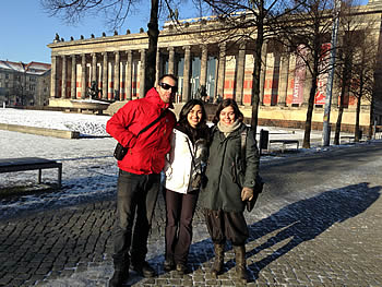Grupo Abreu, Brasil, em Berlim, 16/02/2016