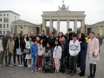 Grupo Lee, Singapura, em Berlim, 10/03/2016