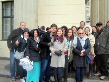 Grupo Jóias, Brasil, em Berlim, 21/03/2016