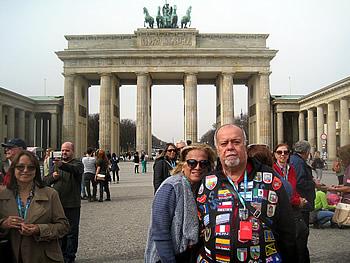 Casal Jurabu, Brasil, em Berlim, 04/04/2016