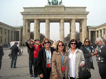 Grupo Silva, Brasil, em Berlim, 11/10/2015