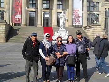 Grupo Alkorina, Indonésia, em Berlim, 13/04/2016