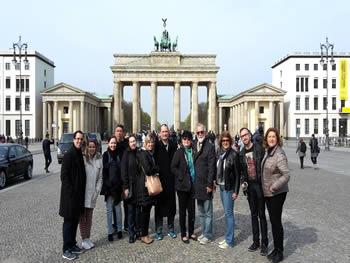 Grupo Jóias, Brasil, em Berlim, 15/04/2016