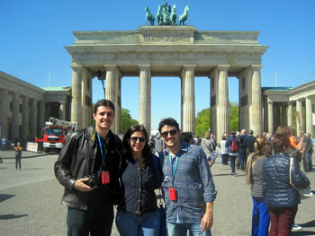 Family Mateus, Brazil, in Berlin, 02/05/2016
