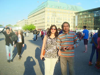 Casal Kaipur, India, in Berlin, 06/05/2016