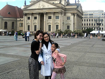Family Urainee, Tailandia, in Berlin, 08/05/2016