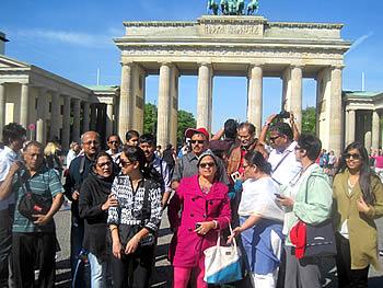 Grupo Tumlare, India, en Berlín, 15/05/2016