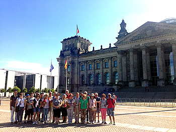 Capitais group, Brazil, in Berlin, 10/07/2016