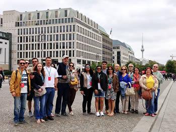 Grupo Jóias, Brasil, em Berlim, 12/08/2016