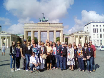 Grupo Capitais, Brasil, em Berlim, 15/08/2016