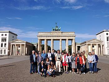 Grupo Abreu, Brasil, em Berlim, 21/08/2016