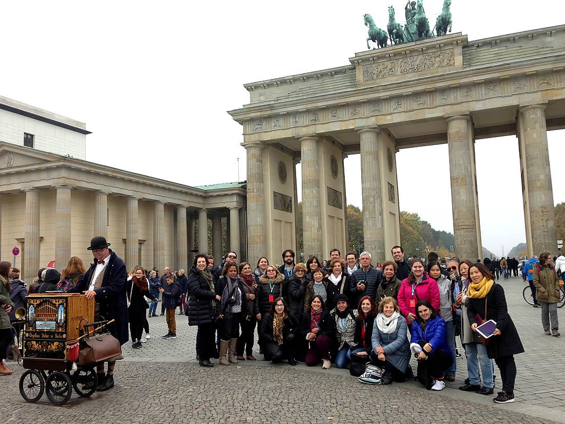 Grupo Abreu, Brasil, em Berlim, 24/10/2016