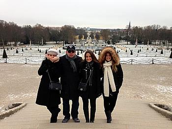 Família Carlos, Brasil, em Potsdam, 07/01/2017