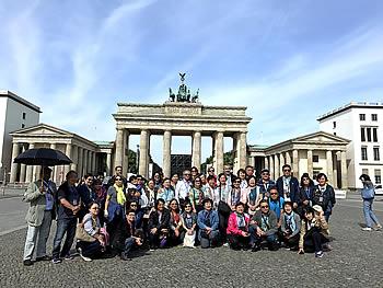 Grupo Capitais Imperiais, Brasil, em Berlim, 05/06/2017