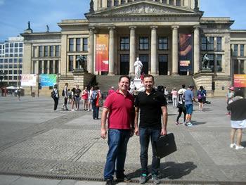Irmãos Landim, Brasil, em Berlim, 22/06/2017
