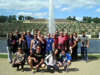 Grupo CAPIMP, Brasil, em Potsdam, 17/07/2017