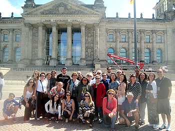 Grupo CAPIMP, Brasil, em Berlim, 17/07/2017