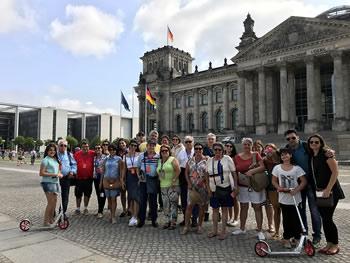 Grupo Jóias, Brasil, em Berlim, 21/07/2017