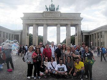 Grupo Reuro, Brasil, em Berlim, 23/07/2017