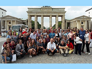 Grupo Abreu, Brasil, em Berlim, 25/08/2017