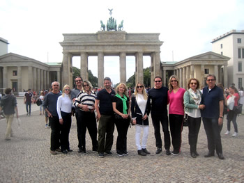 Grupo Anisio, Brasil, em Berlim, 25/08/2017
