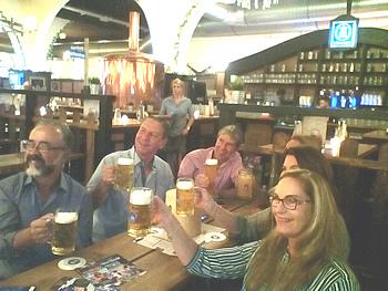 Grupo Queensberry, Brasil, em Berlim, 31/08/2017