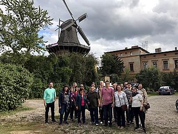 Grupo Abreu, Brasil, em Potsdam, 10/09/2017