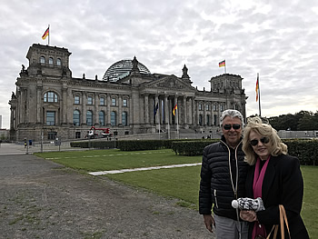 Casal Travellux, Brasil, em Berlim, 12/09/2017