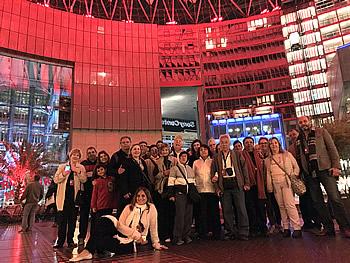 Grupo Abreu, Brasil, em Berlim, 16/09/2017