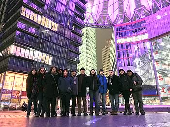 Grupo Abreu, Brasil, em Berlim, 23/03/2018