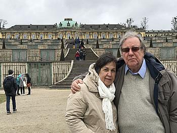 Casal Maranhao, Brasil, em Potsdam, 01/04/2018